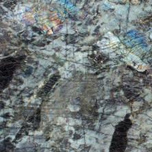 Cлэб гранитный Labradorite Big Flowers