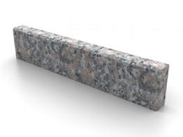 Бордюр гранитный Южно-Султаевский ГП-1 (150*300*L) низ колотый С фаской