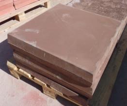 Плиты тротуарные армированные 600*600*60 коричневые