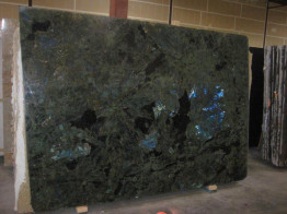 Cлэб гранитный Labradorite Blue Madagascar