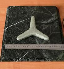 Камень для стоунтерапии Жадеит Звезда