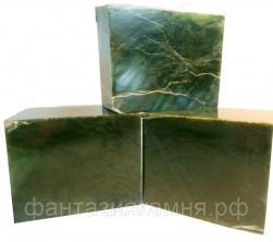 Нефрит «Кубики» для бани и сауны