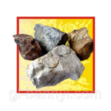 Камни для бани Малиновый кварцит 20кг.