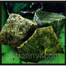 Камни для бани Нефрит колото-пиленый 10кг.