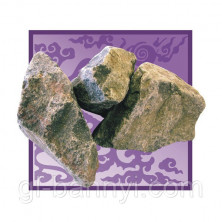 Камни для бани Габбро-диабаз 20кг.