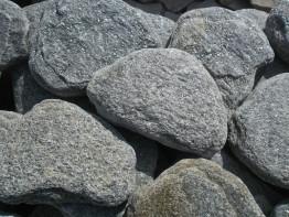 Кварцит серый обвалованный (20 кг)