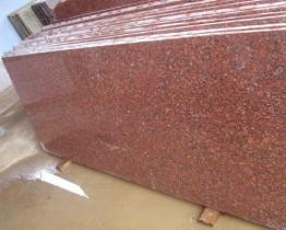 Слэб гранитный Империал Ред (Imperial Red) 2900*1700*20мм, Полировка