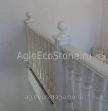 Балясины из мрамора белого в Москве