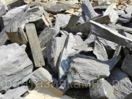 Камень - сланец кварцованный 200-300 кг (зеленый)