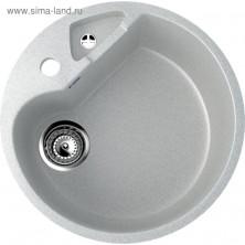 Мойка кухонная Ulgran U108-310, d=505 мм, цвет серый
