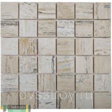 Мозаика Vanilla Wood 50x50