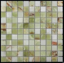 Мозаика из натурального камня Серия MIRACLE (НЕФРИТ) JA-2305/P