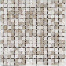Мозаика каменная Бонапарт (Bonaparte) Sevilla-15 Slim Matt 30,5x30,5 4 мм Серый