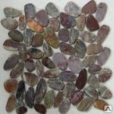 Мозаика из натурального камня Flat Red jack