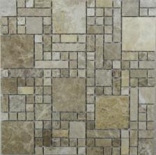 Мозаика из натурального камня Tetris