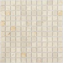 Мозаика из натурального камня Caramelle Botticino MAT 23x23x4, шт.