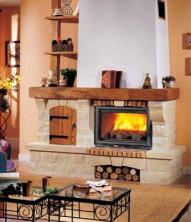 Каминная облицовка Chazelles Roquebrune (рустик)