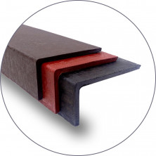 Плитка для крыльца «Состаренный габбро» 1500*380*190 коричневый