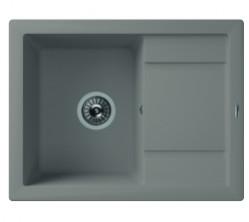 Мойка кухонная Florentina накладная, литой мрамор, Липси-660 Грей