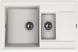 Мойка кухонная Florentina накладная, литой мрамор, Липси-780К Жасмин