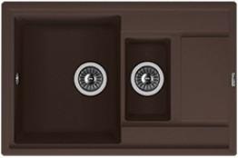 Мойка кухонная Florentina накладная, литой мрамор, Липси-780К Мокко