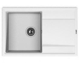 Мойка кухонная Florentina накладная, литой мрамор, ЛИПСИ-780 Жасмин
