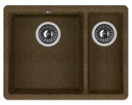 Мойка кухонная Florentina встраиваемая, литой мрамор, Вега 335/160 Коричневый
