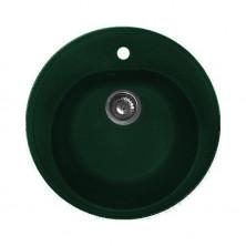 Кухонная мойка Granfest RONDO GF-R510 Зеленая