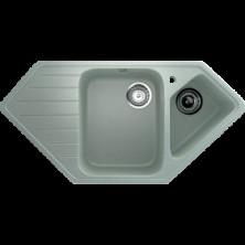 Каменная мойка Улгран U-409 Салатовый