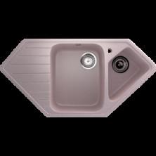 Каменная мойка Улгран U-409 Розовый