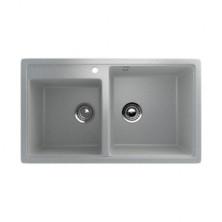 Мойка кухонная Ulgran U200-310, 840х485 мм, цвет серый