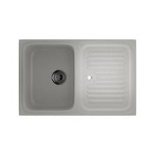 Мойка кухонная Ulgran U502-310, 760х500 мм, цвет серый