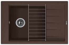 Мойка кухонная Florentina накладная, литой мрамор, ЛИПСИ-780P