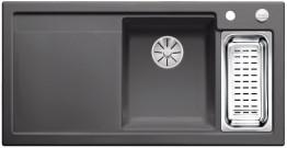 Мойка кухонная Blanco Axon II 6 S Ceramic PuraPlus 524147 Базальт (правая)