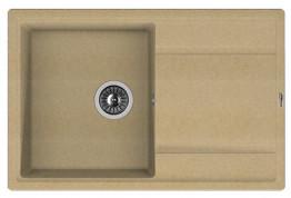Мойка кухонная Florentina накладная, литой мрамор, ЛИПСИ-780