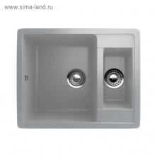 Мойка кухонная Ulgran U106-310, 600х485 мм, цвет серый