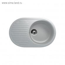 Мойка кухонная Ulgran U107-310, 720х455 мм, цвет серый