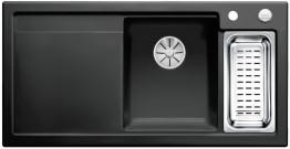 Мойка кухонная Blanco Axon II 6 S Ceramic PuraPlus 524149 Черный (правая)