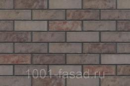 Клинкерная фасадная плитка King Klinker Польша Клинкерная фасадная плитка Grey Satin (HF49)