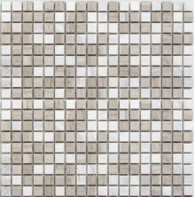 Мозаика каменная Бонапарт (Bonaparte) Melange-15 30,5x30,5 Серый