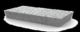 Брусчатка гранитная Мансуровский 100*200*80 мм (полнопиленная, верх термо)