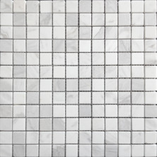 Мозаика из натурального камня Caramelle Dolomiti bianco POL 23x23x4, шт.