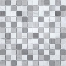 Мозаика из натурального камня Caramelle Pietra Mix 3 MAT 23x23x4, шт.
