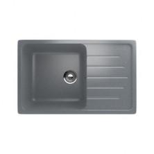 Мойка кухонная Ulgran U400-309, 750х495 мм, цвет тёмно-серый