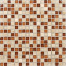Мозаика из стекла и натурального камня Caramelle Baltica 15x15x4, шт.