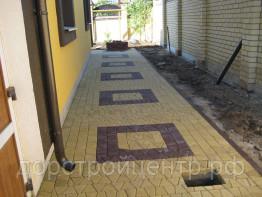 Узоры укладки тротуарной плиткой