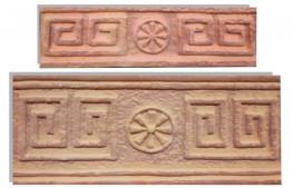 Плитка Терракот-Декор Эллада мини 70х240 мм.