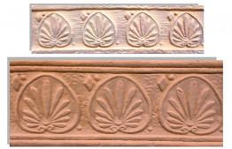 Плитка-декор Терракот РОДОС Макси 123х263 мм.