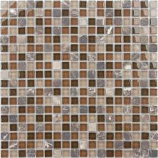 Мозаика из стекла и натурального камня Caramelle Andorra 15x15x4, шт.