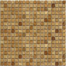 Мозаика каменная Бонапарт (Bonaparte) Siena-15 30,5x30,5 7 мм Жёлтый